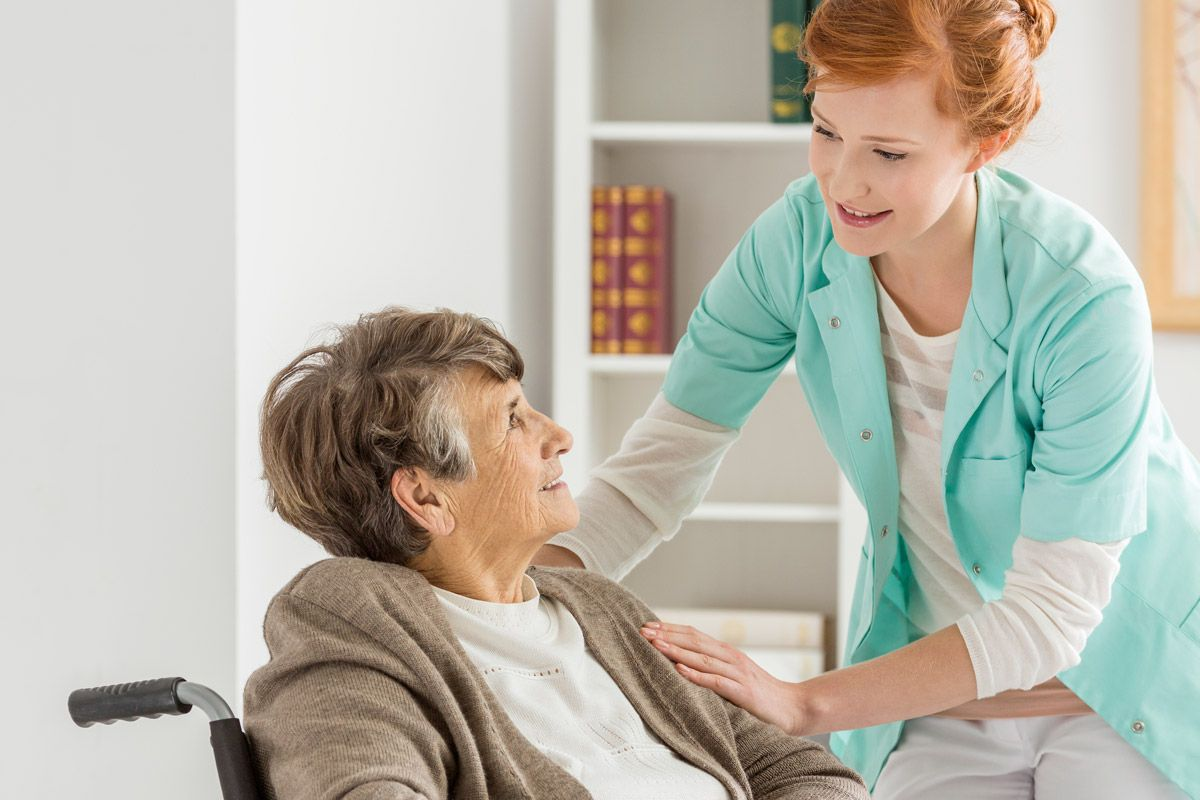 Inhome care, like the services provided by Comfort