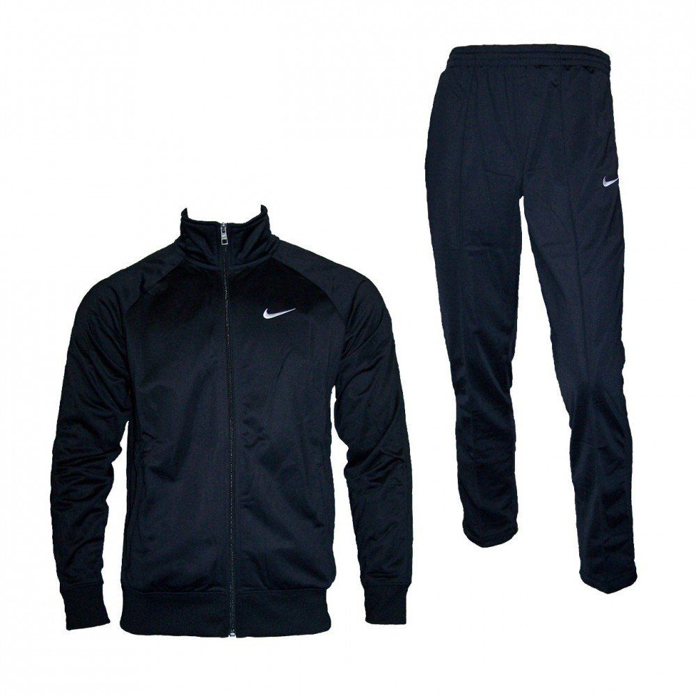 7362b6d49c830 Amazon.com: Nike Mens Tracksuit Classic Warm Up Jog Suit Black Size ...