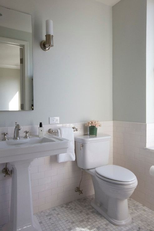 26 half bathroom ideas and design for upgrade your house | subway