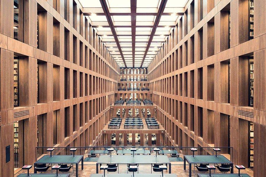 Galeria Bibliotecas Europeias Por Thibaud Poirier Bibliotecas
