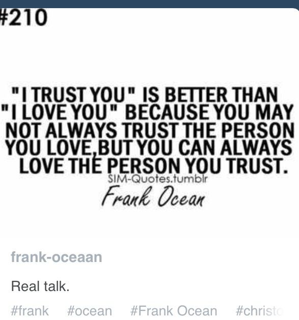 Quotes About The Ocean And Love: Frank Ocean Quotes