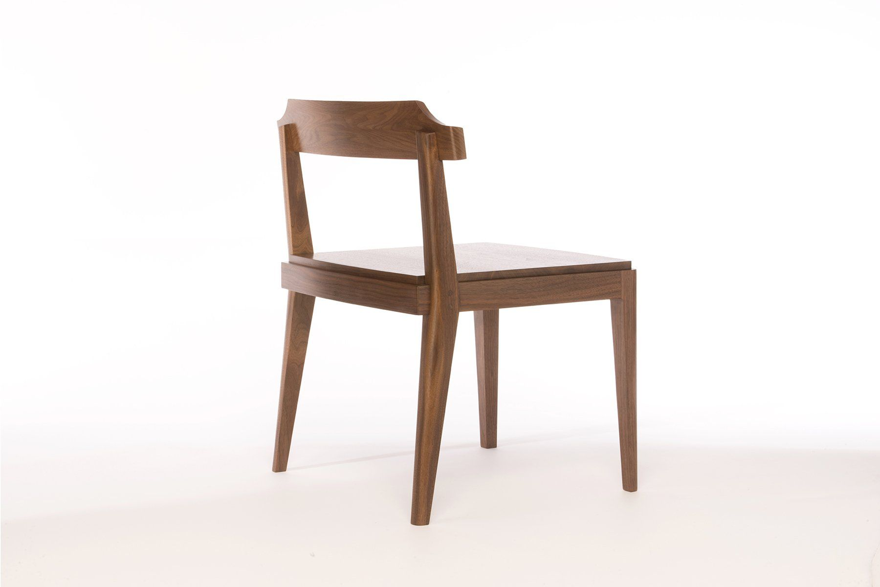 Photo of Low-Back Dining Chair | walnut accent chair