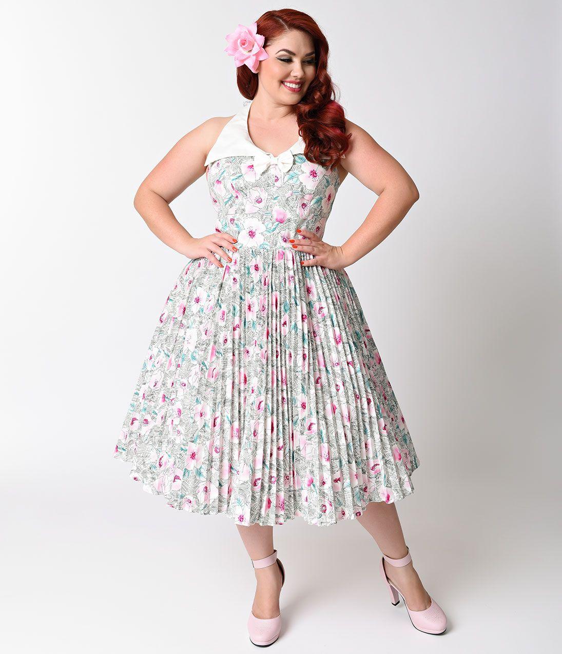 Plus Size Retro Dresses 50s 60s 70s 80s 90s Plus Size Vintage Dresses Retro Dress Plus Size Retro Dresses