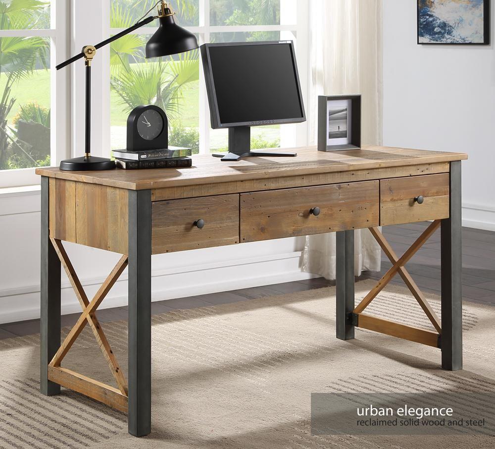 Urban Elegance - Reclaimed Home Office Desk / Dressing Table