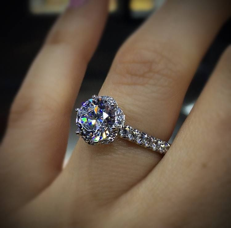Top 10 Halo Engagement Rings Raymond Lee Jewelers Classy Engagement Ring Beautiful Engagement Rings Fine Engagement Rings