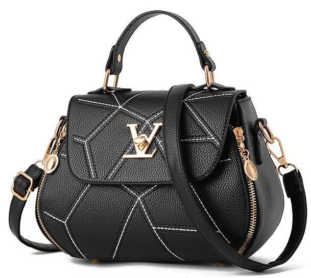 6e6b2d735f Luxury Leather Design Clutch Shoulder Handbag - 7 Colors