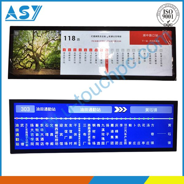Stretched display, bar type lcd monitor | Stretched Display
