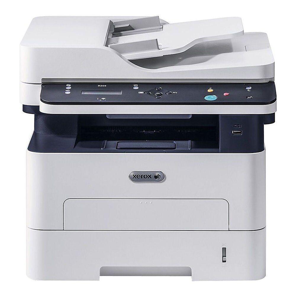 Xerox B205 Ni Multifunction Printer B W Laser Legal 8 5