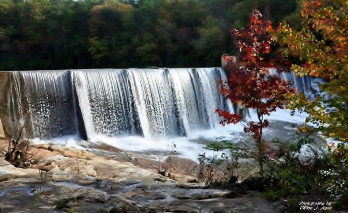 This photo of DeSoto Falls is GORGEOUS!!!