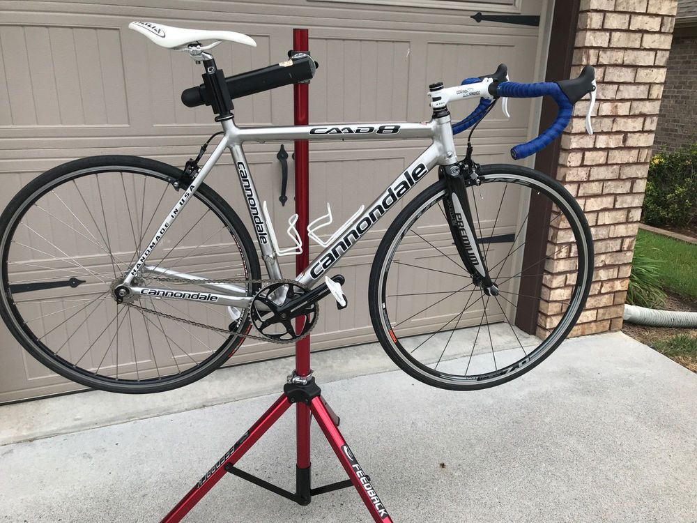 Cannondale Caad8 Size 54 Converted To One Speed Fixed Gear Cannondale Touring Road Bike Fixed Gear