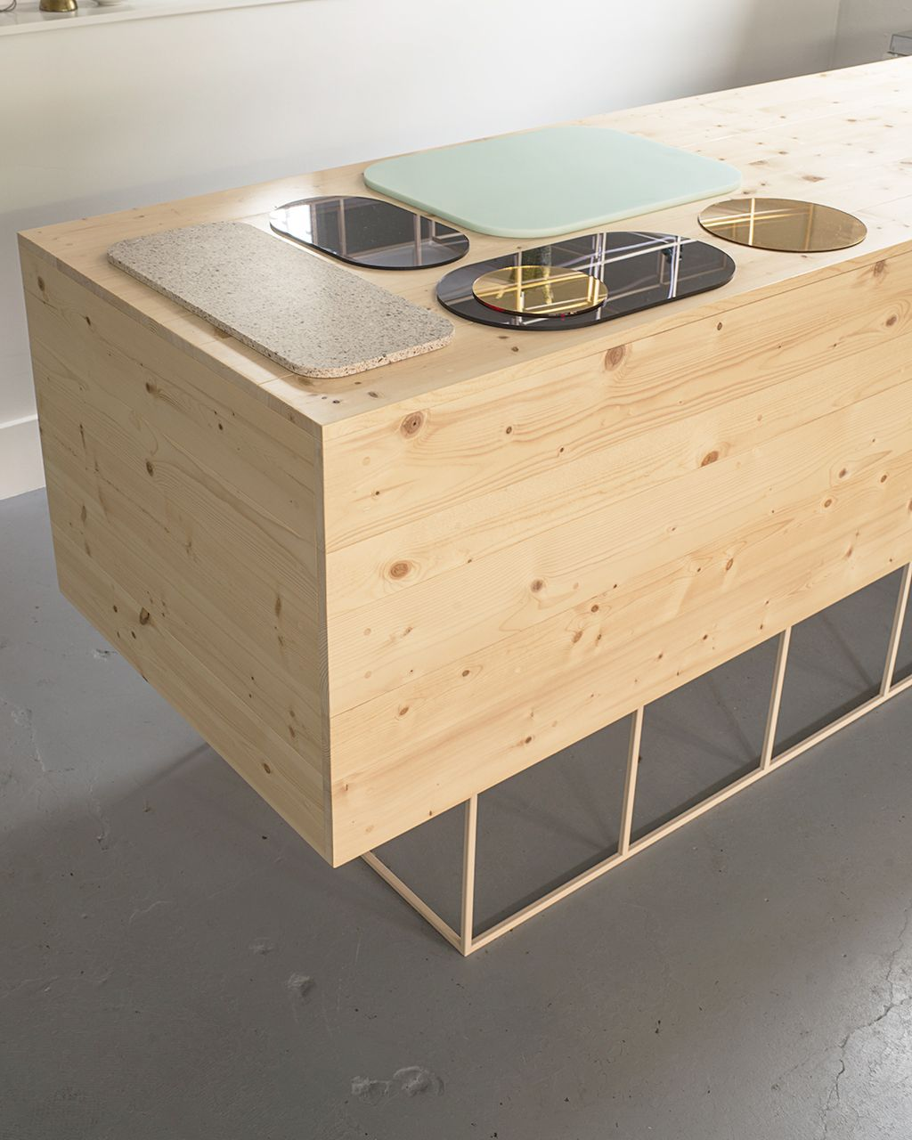 Pin By Elsa Pujol On Ext Birch Cabinets Unique Furniture Stone Laminate