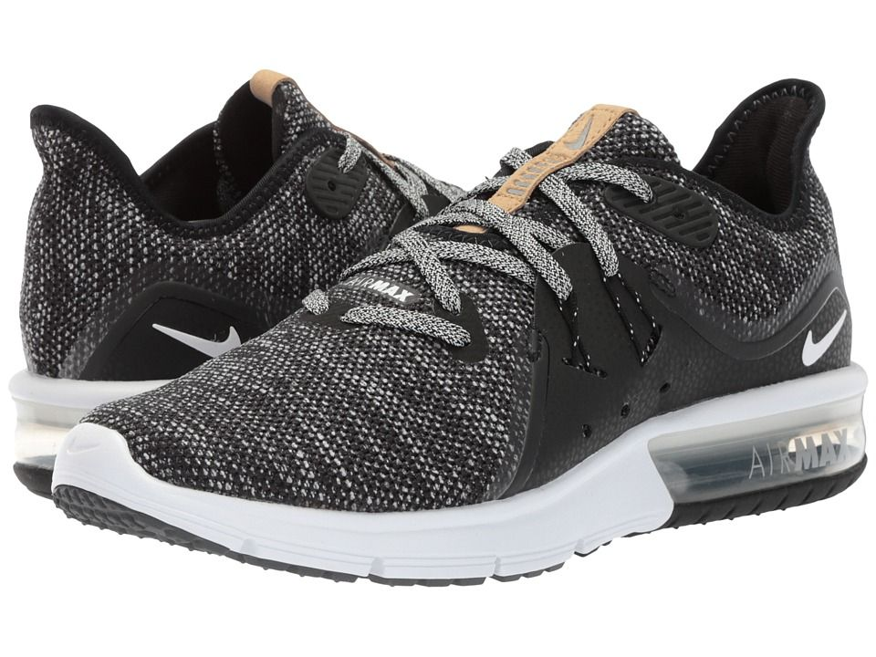 52f087005c Nike Air Max Sequent 3 Women's Shoes Black/White/Dark Grey ...