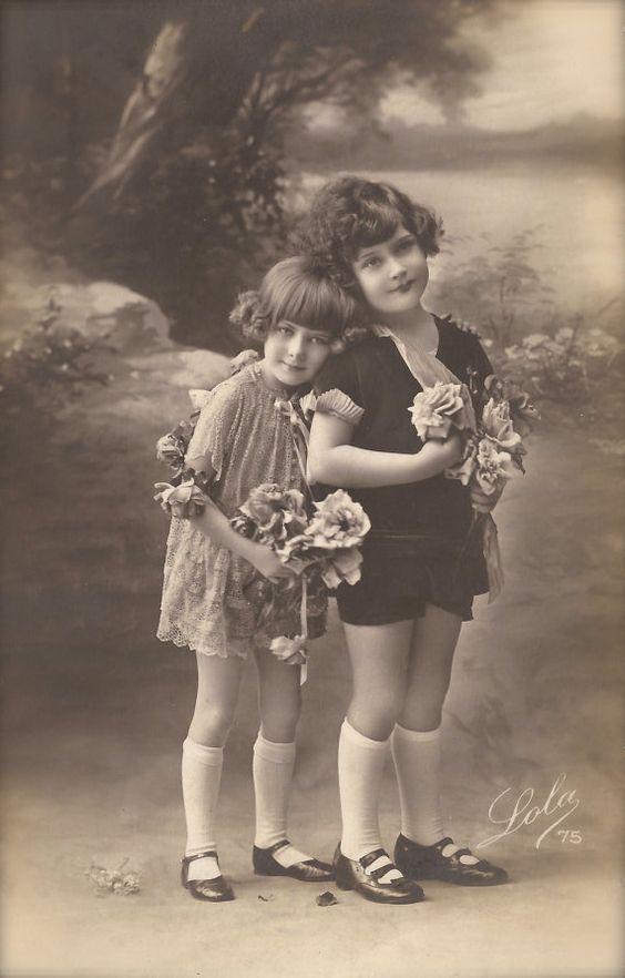 1920s Art Deco French Original Vintage RARE Photo Postcard Beautiful ...