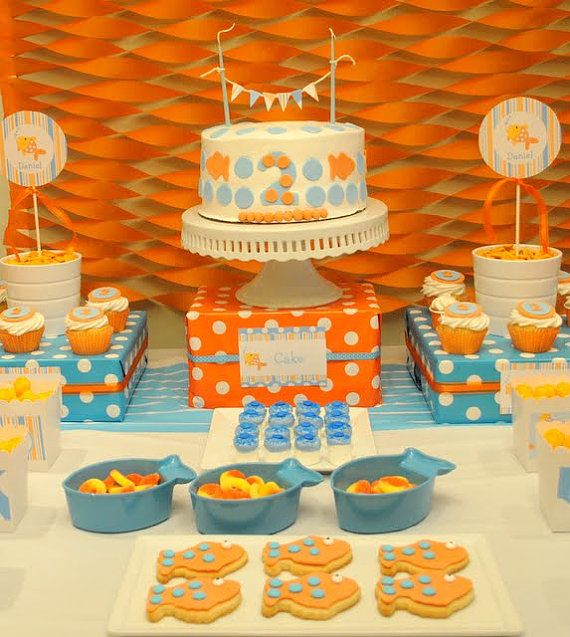 Goldfish Baby Shower Goldfish Birthday Decorations Goldfish