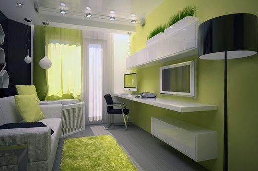 комната 13 кв.м дизайн фото