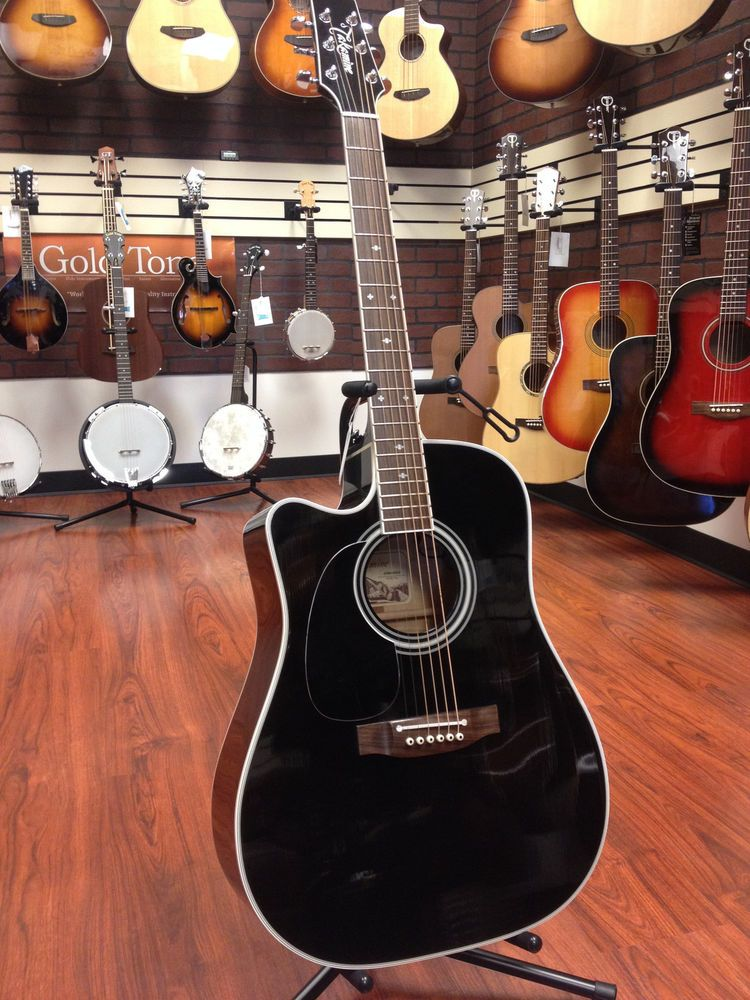 Used Takamine Ef341sc Acoustic Electric Guitar Left Handed Acoustic Electric Guitar Guitar Acoustic Electric