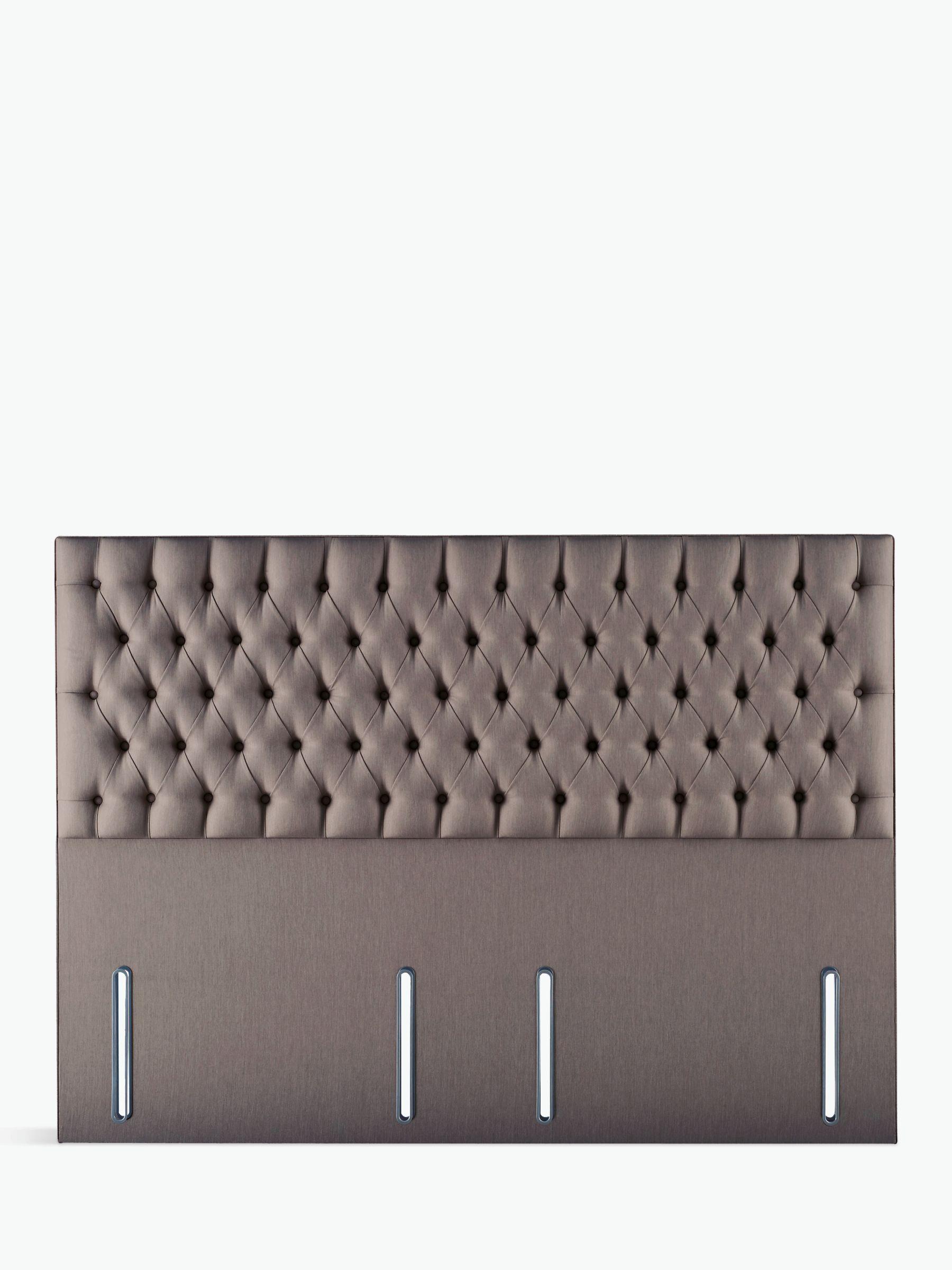 Hypnos Eleanor Full Depth Headboard Super King Size Imperio Grey