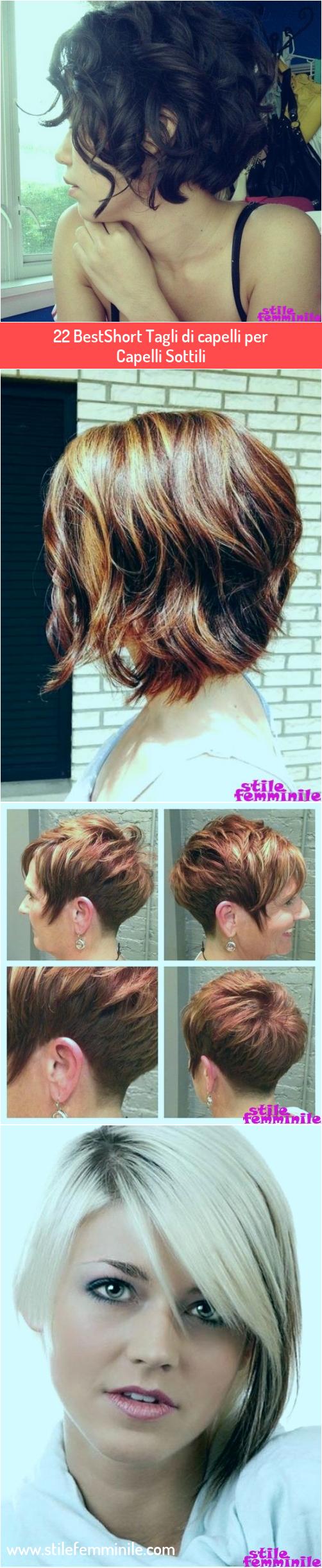 Photo of 22 BestShort Tagli di capelli per Capelli Sottili