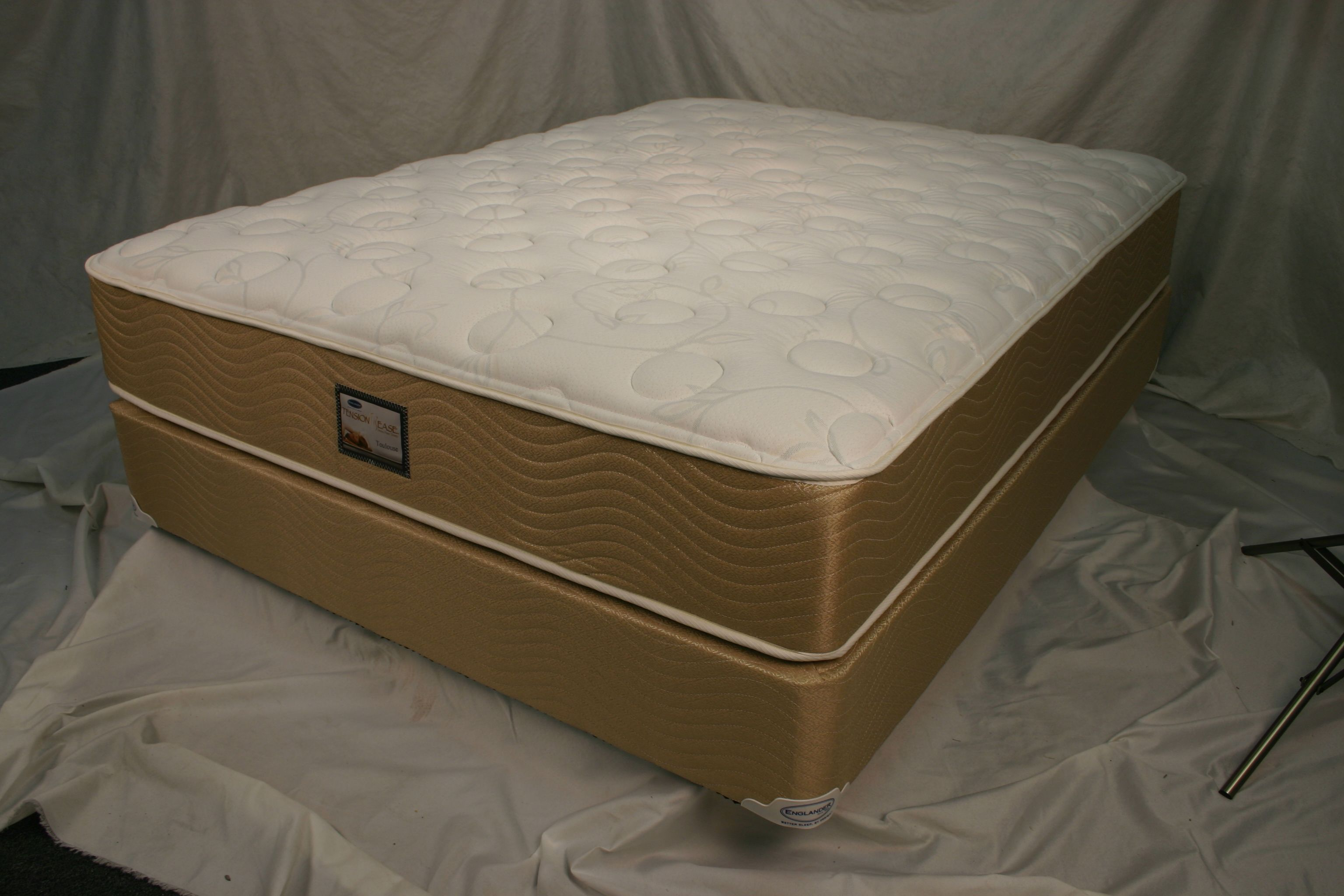 Toulouse plush tension ease mattress by englander all for Englander mattress
