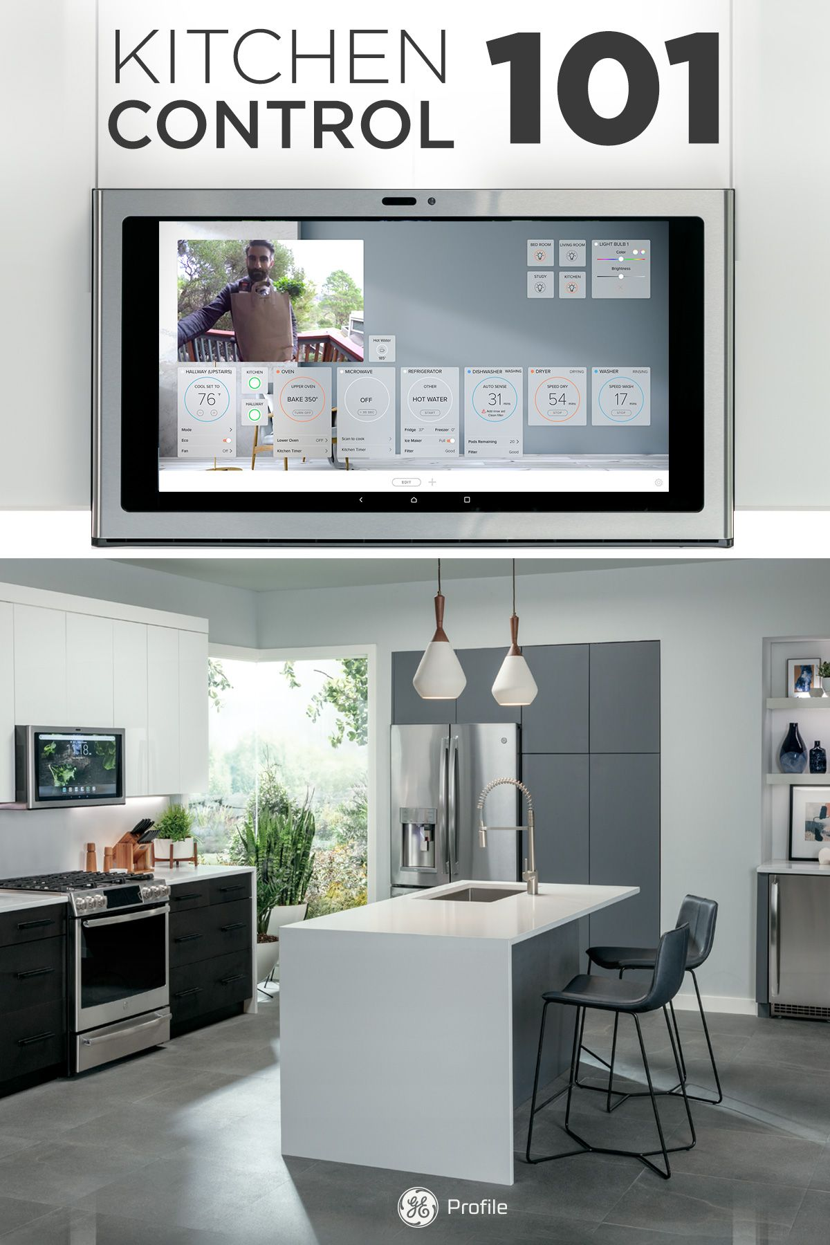 The Kitchen Hub lets you manage your smart home from the