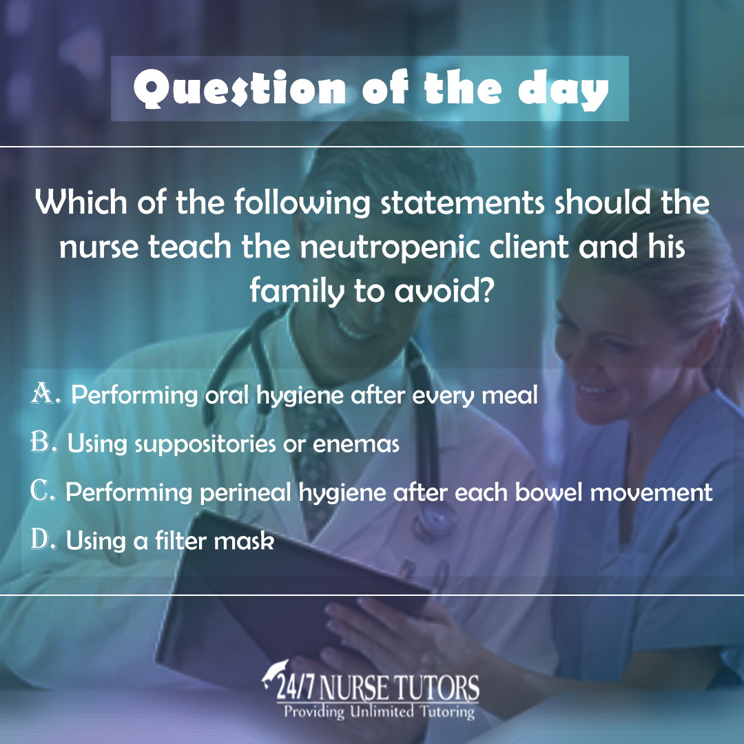 247 Nurse Tutors Offers Free Practice Questions And