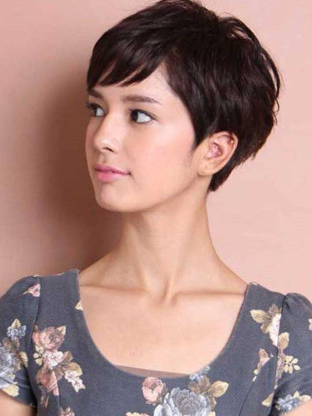Génial Image de coupe cheveux court effilé femme sur Coupe
