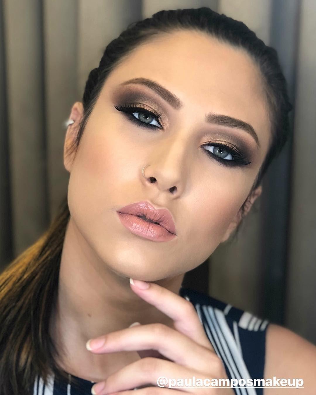 "965 curtidas, 19 comentários - Camila Campos (@camilacamposmakeup) no Instagram: ""Que make! @paulacamposmakeup arrasou meu amor. #studiocamilacampos #makeporpaulacamposmakeup"""