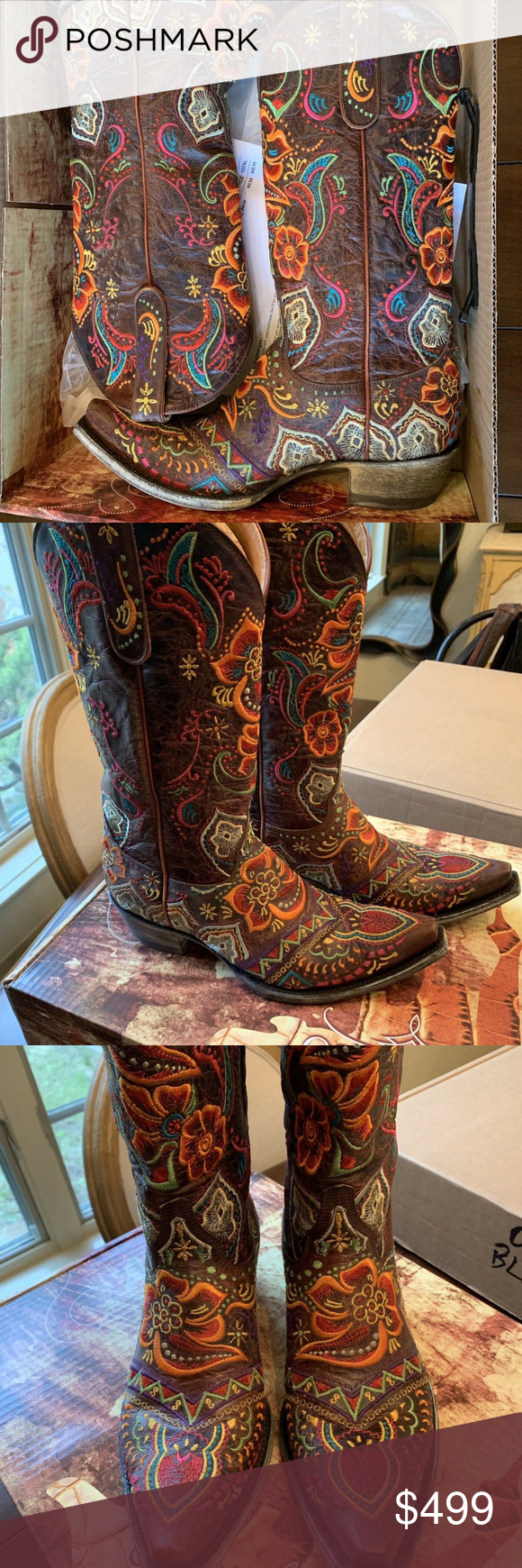 399a691ccfd Brand New Old Gringo Olivia Boots Old Gringo Olivia 13