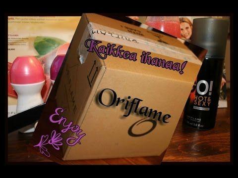 UNBOXING - Oriflame kosmetiikkaa