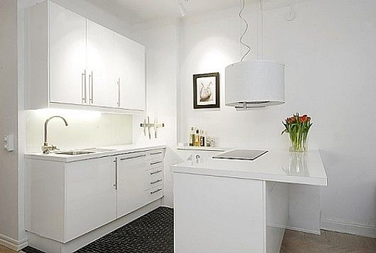 Kitchen Counter With Stools Small Kitchen Design Apartment Small Apartment Kitchen Kitchen Design Modern Small