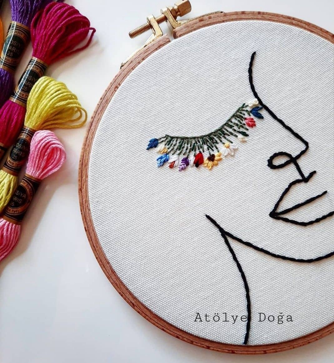Aesthetic embroidery designs