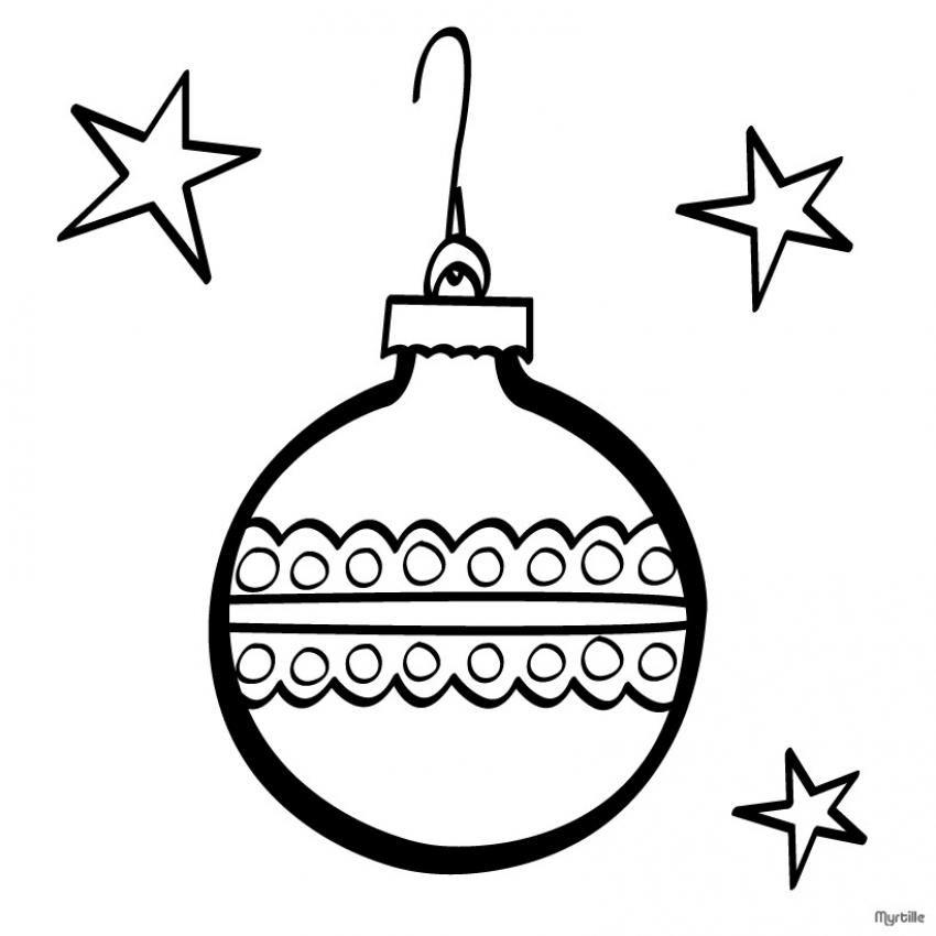 adorno de esfera de Navideno para colorear dibujar recortar y ...