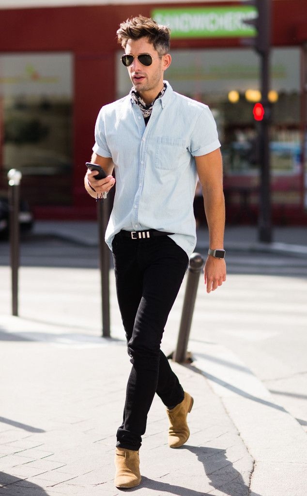 Michael Lockley From Men 39 S Fashion Week Street Style