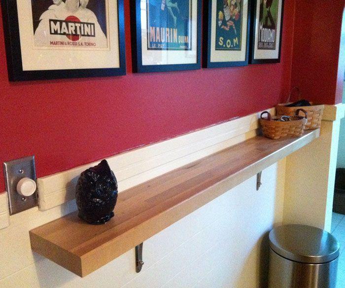Diy Floating Countertop Google Search Kitchen Bar Table Billards Room Bar Countertops