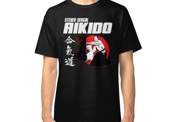 Aikido Kanji T-Shirt Arts Martiaux