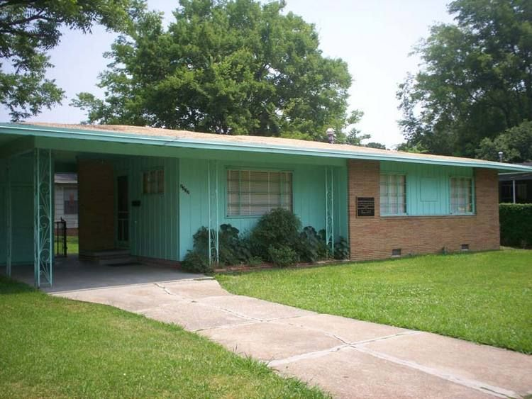 Medgar Evers home, Jackson, Mississippi (1963) This is now a museum. I'm hoping we can stop and pay homage to a great man.