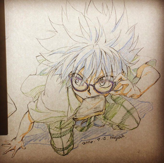 Niuya On Killua Hunter X Hunter Killua Character Illustration