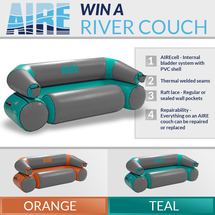 Win An Inflatable Couch From Aire For Floating Rivers Sweepstakes Sweepstakes Giveaways Win