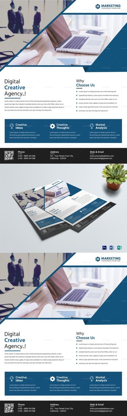 Marketing Flyer Template Flyer Templates - High Quality
