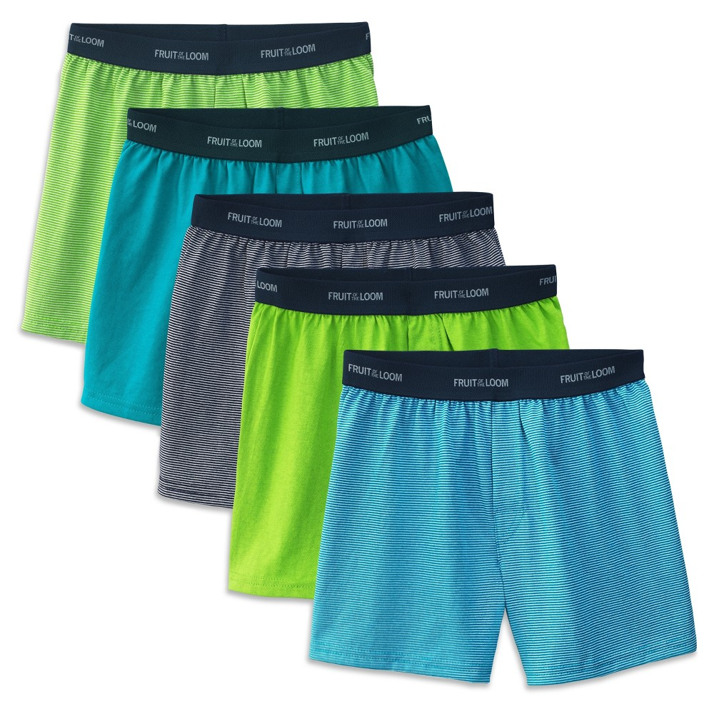b647058850c0 Boys' Fruit of the Loom Boxer Shorts - Multi-Colored XL, Boy's, Multicolored