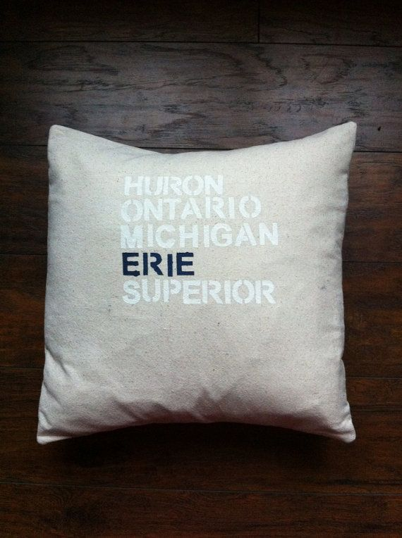 Great Lakes Pillow Cover Reserved For Joann Crafty Ideas Classy Joann Fabric Pillow Inserts