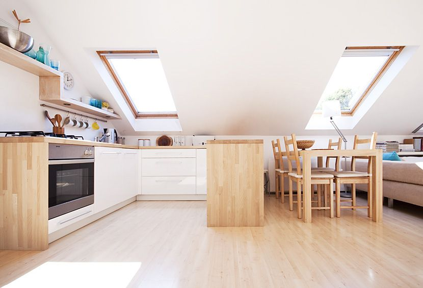 Poddasze 03 Home Decor Kitchen Kitchen Interior Interior Design Kitchen