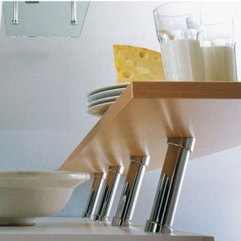 Cabinet Storage Countertop 20 Cantilever Bar Supports For Solid