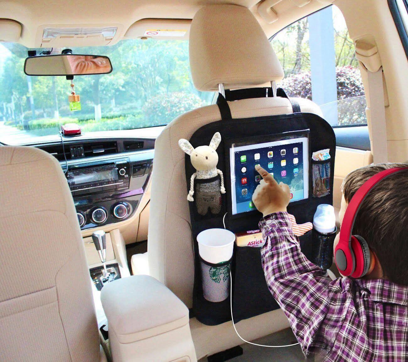 Multifunctional Auto Car Back Seat Organizer Holder protecter | Seat ...