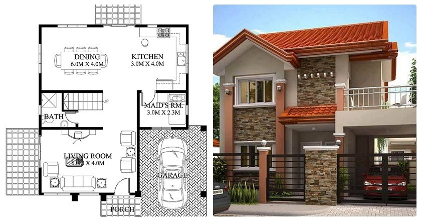 Beautiful house design two storey plan also best dream images plans homes rh pinterest