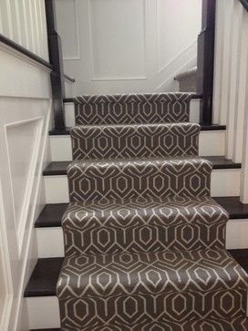 I Also Like This Pattern Bloomsburg Design Ideas Pictures Remodel And Décor Modern Carpet Stair Runner