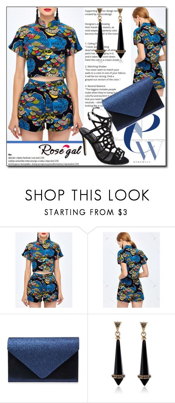 """""""Party Twinset by Rosegal 72/I"""" by esma178 ❤ liked on Polyvore featuring modern and vintage"""