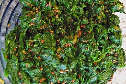 Sigumchi Namul - Korean Spinach Salad Kimchi | Receta ...