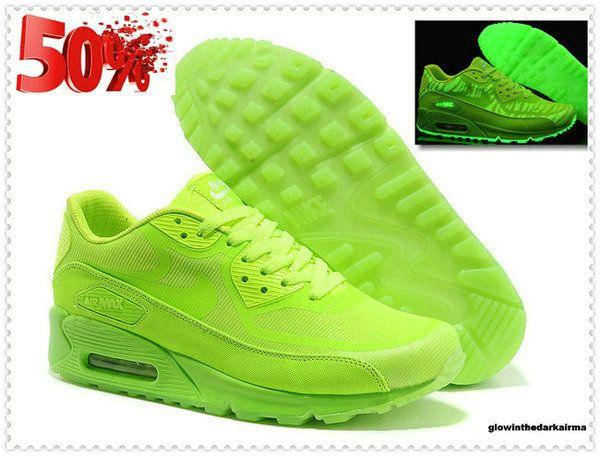 air max 90 giallo fluo