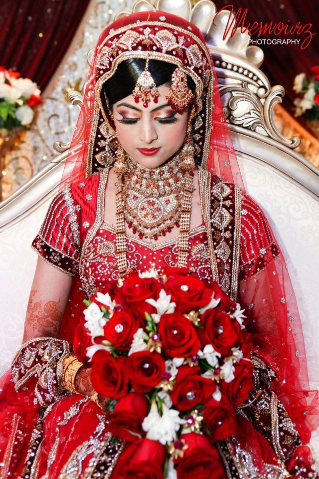 Beautiful Indian Bride | •○♥ BEAUTY OF ASIA ♥○• | Pinterest | Boda